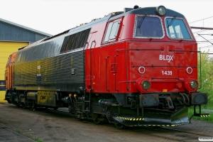 BLDX MZ 1439. Padborg 02.05.2009.