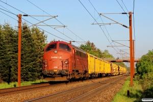 CONTC MY 1154+ballastrensetog. Km 148,3 Kh (Langeskov-Marslev) 11.05.2016.