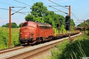 CONTC MY 1154 med BM 6131 Od-Pa. Km 173,1 Kh (Holmstrup-Tommerup) 04.06.2016.