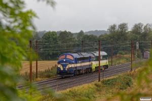 CONTC MY 1158+BLDX MX 1019 som BM 6012 Pa-Ro. Km 180,2 Kh (Skalbjerg-Bred) 09.09.2017.