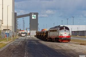 RCDK MY 1134. Århus havn 13.04.2020.