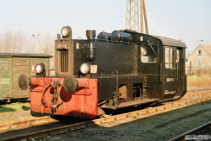 DR 100 129-6. Perleberg Süd 29.03.1991.