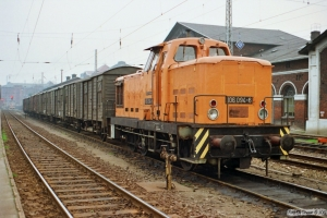 DR 106 094-6. Schwerin 27.10.1990.