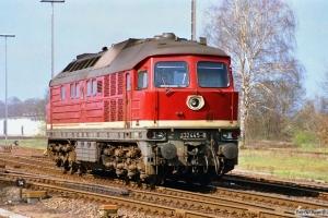 DR 132 445-8. Büchen 31.03.1990.