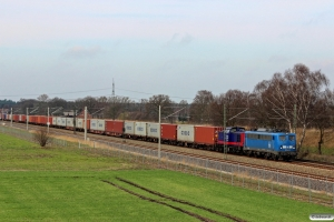 PRESS 140 042-4+MTR 745 702-1. Radbruch - Bardowick 22.03.2014.