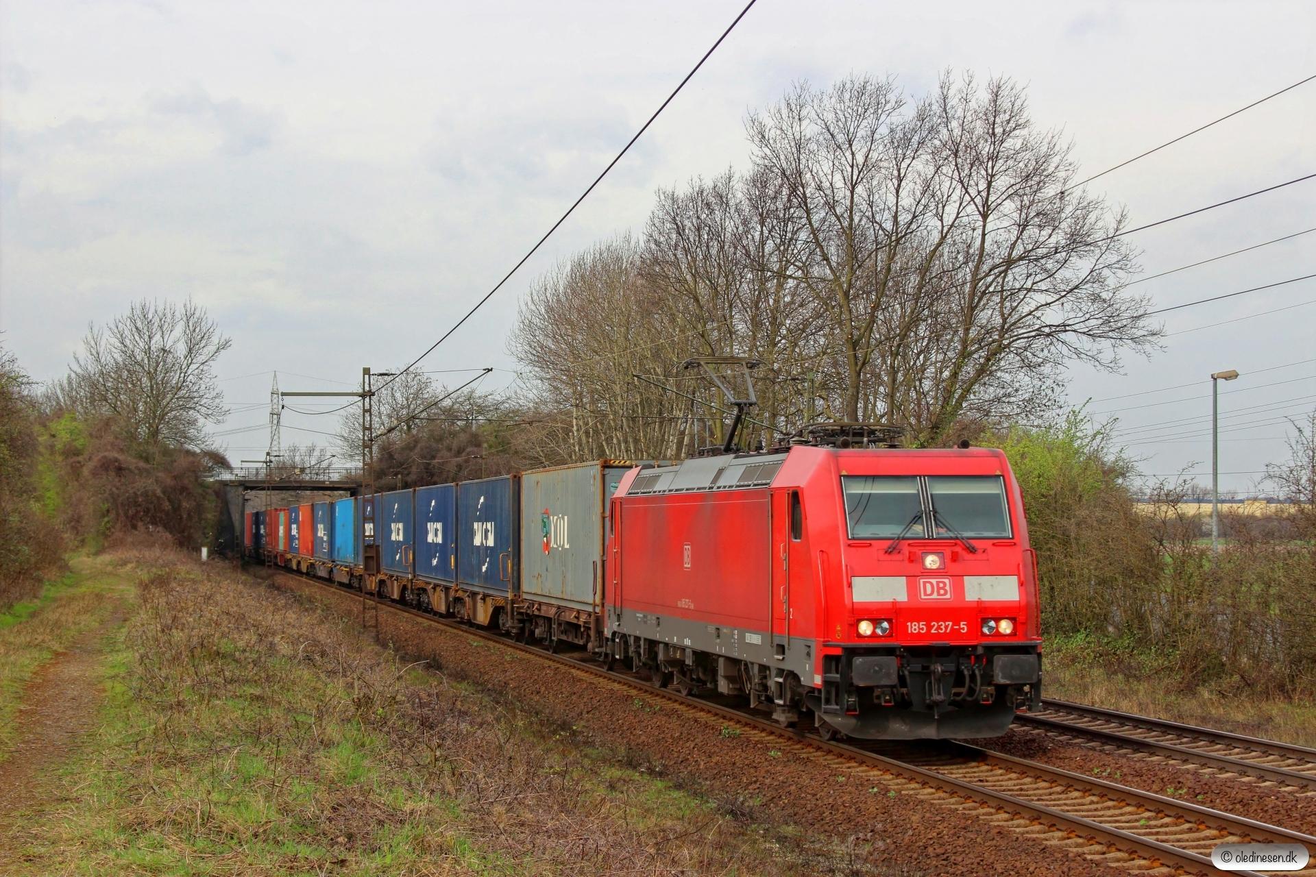 DB 185 237-5. Ahlten 21.03.2014.