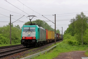 ITL E 186 242. Hamburg-Moorburg 10.05.2014.
