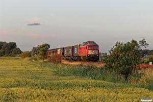 DB 232 201-4 med EZ 47423. Friedrichstadt - Lunden 18.07.2015.