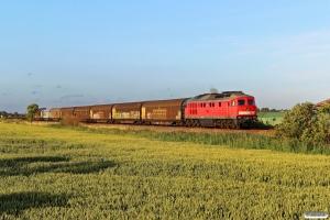 DB 232 280-8 med EZ 47419. Friedrichstadt - Lunden 18.07.2015.