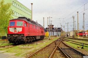 DB 232 282-4. Schwerin Hbf 28.10.1999.