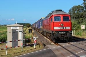 DB 232 669-2 med EZ 47413. Friedrichstadt - Lunden 18.07.2015.