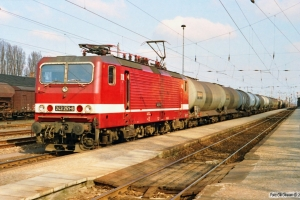 DR 243 251-6. Wittenberge 29.03.1991.