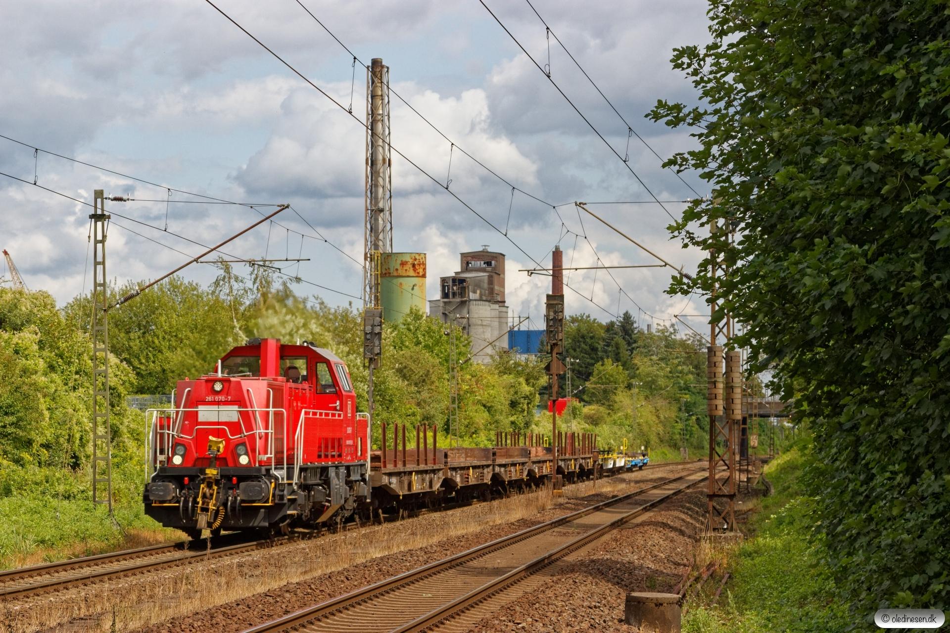 DB 261 070-7. Misburg 13.08.2019.