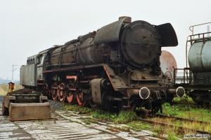 DR 44 1056-9. Wismar 27.10.1990.