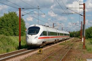 DB 605 517-2+605 217-9+605 117-1+605 017-3 som EC 381 Fa-Pagr. Padborg 23.05.2008.