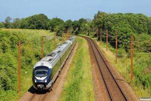 DB 605 006-5+DB 605 003-2 som M 6117 Rg-Pa. Km 166,0 Kh (Odense-Holmstrup) 18.06.2014.