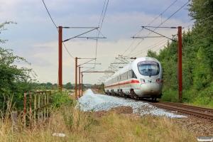 DB 605 019-8+605 119-6+605 219-4+605 519-7 som IE 380 Pa-Fa. Km 55,6 Fa (Sommersted-Vojens) 06.08.2014.