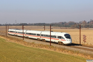 DB 605 004-0+605 104-8+605 204-6+605 504-9 som RØ 24022 Nf-Kh. Km 60,0 Kh (Kværkeby-Ringsted) 19.03.2015.