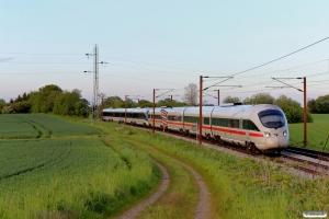 DB 605 016-4+DB 605 006-5 som M 8057 Hgl-Fa. Km 170,0 Kh (Holmstrup-Tommerup) 24.05.2015
