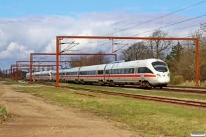 DB 605 005-7+DB 605 018-0 som M 8122 Pa-Hgl. Kauslunde 08.04.2016.