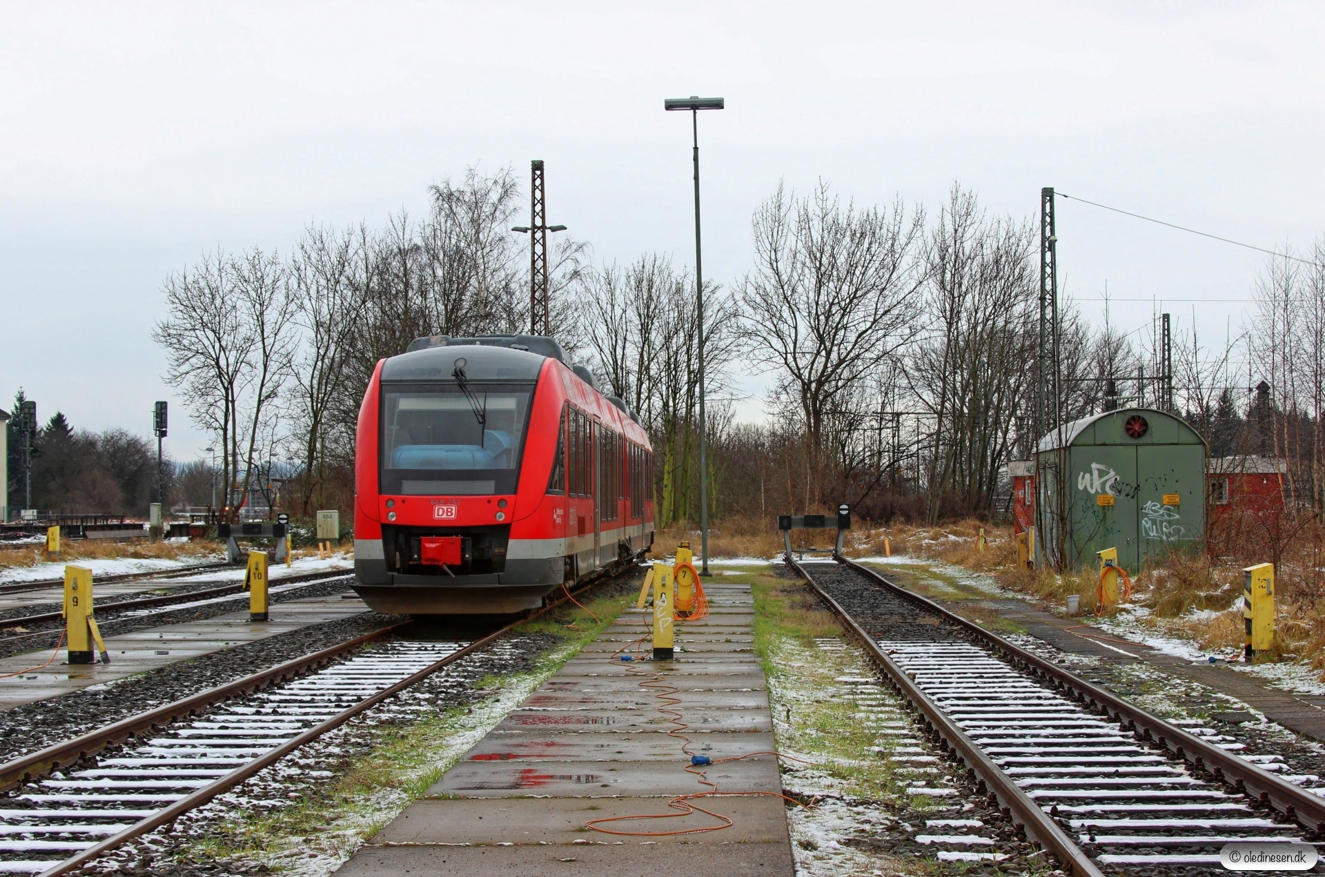 DB 648 252+648 752. Northeim 25.01.2015.