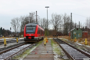 DB 648 252+648 752. Northeim 25.01.2015.