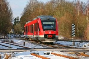 DB 648 337+648 837 som RB 21671. Kiel Gaarden-Süd 19.01.2013.