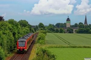 DB 648 344+648 844+648 834+648 334 som RE 21918. Husby - Flensburg 17.06.2016.