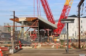 Bygning af Byens Bro i Odense 2014-2015