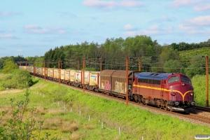 CFLCD MY 1146 med CG 6204 Tl-Pa. Km 16,2 Fa (Taulov-Kolding) 16.05.2014.