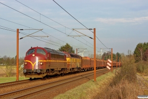 CFLCD MY 1146+CFLCA 1807 med CG 98755 Ro-Pa. Km 171,6 Kh (Holmstrup-Tommerup) 07.03.2015.