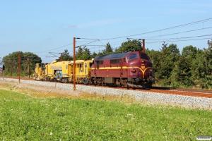 CFLCD MX 1029+2 SLG arbejdskøretøjer som CB 6207 Fa-Pa. Km 53,2 Fa (Sommersted-Vojens) 07.08.2015.