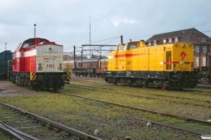 CFL Cargo 1151 og SRM 303006. Padborg 18.10.2008.