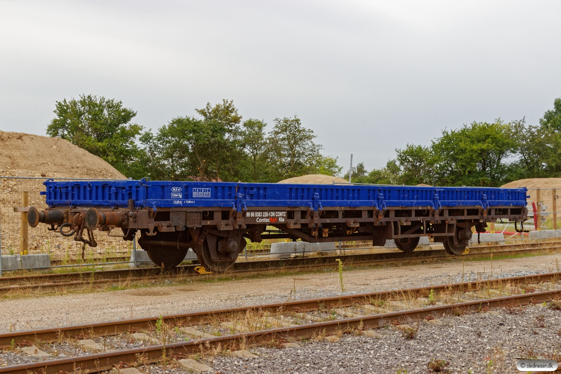 CONTC Kbs 99 86 9383 220-1 (ex. Kbs 01 86 333 0 220-5). Ringsted 15.08.2019.