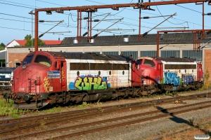 RCDK MY 1122 og MY 1134. Fredericia 27.06.2010.