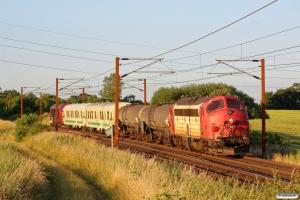 DSB MY 1159+Weedfree sprøjtetog+RCDK MY 1134 som RB 8754 Vj-Od. Km 170,0 Kh (Holmstrup-Tommerup) 10.07.2013.