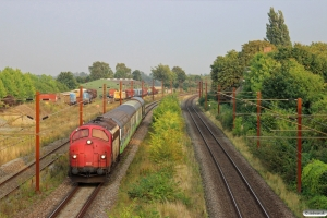 RCDK MY 1134+Expotrain 004+002+003+CFL Cargo Rilnss som RM 6451 Gl-Ar. Marslev 30.08.2013.