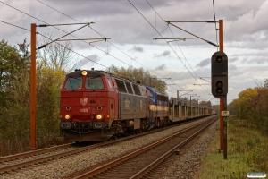 STAB MZ 1425+CONTC MY 1158 med RG 6145 Rg-Pa. Km 165,0 Kh (Odense-Holmstrup) 26.10.2017.