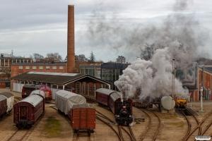 DSB Hs 415+CC 1132+CLE 1678. Odense 12.02.2019.