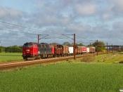 DSB MZ 1401 med VM 6417 Od-Pa. Km 54,6 Fa (Sommersted-Vojens) 03.05.2020.