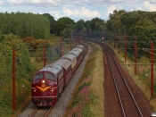 DSB MY 1101+CC+BU+AX+AC+MY 1135 som VM 6405 Ro-Fa. Km 166,0 Kh (Odense-Holmstrup) 30.08.2020.
