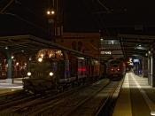DSB MT 152+Hs-t+E+TF+MZ 1401+MO 1846+HS 415 som VM 226501 Od-Vj og DSB ER 35 som RV 2764 Fa-Od. Odense 29.10.2020.