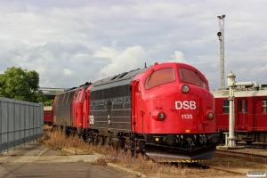 DSB MY 1135 og MZ 1401. Odense 01.10.2016.