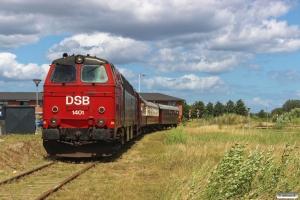 DSB MZ 1401+CLE 1678+BU 3703+AX 393. Nyborg 25.06.2017.
