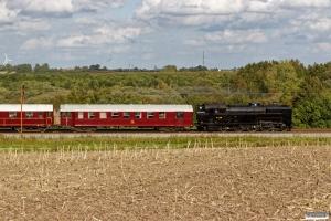 DSB S 736+CLE 1678+AC 42+BU 3703 som VP 226132 Fa-Od. Km 196,2 Kh (Ejby-Nørre Åby) 10.09.2017.