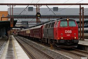 DSB MZ 1401 med VM 6311 Gb-Pa. Odense 07.10.2017.