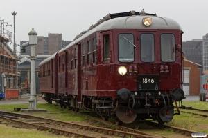 DSB MO 1846+CLE 1678 - Materiel til VP 222101 Od-Tp. Odense 15.10.2017.
