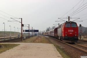 DSB MZ 1401 med VM 222004 Fa-Kj. Korsør 10.02.2018.
