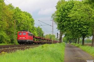 DB 140 850-9. Dörverden - Eystrup 08.05.2014.