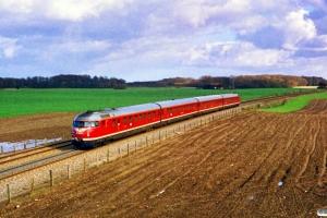 DB 613 603-0+913 012-1+913 010-5+613 620-4 som P 6552 Od-Kh. Km 4,3 Ng (Nyborg-Hjulby) 25.03.1989.